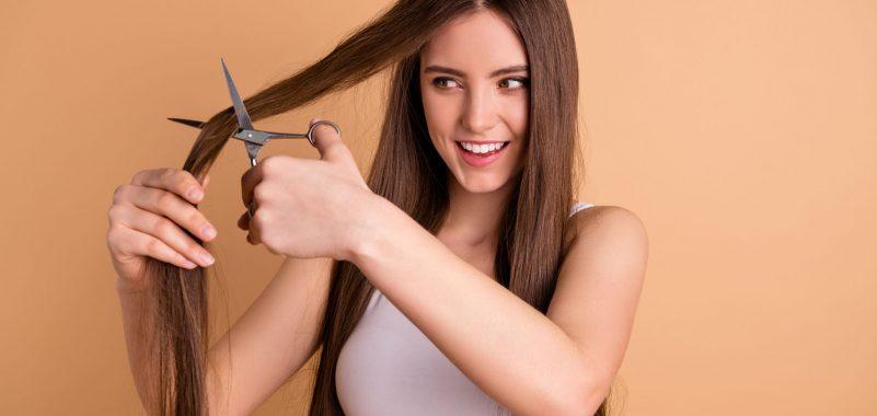 Haare zu Hause selbst schneiden Tipps